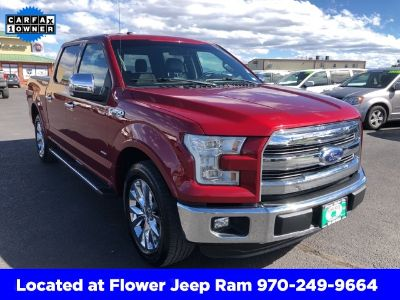 2016 Ford F-150 Lariat (Red)