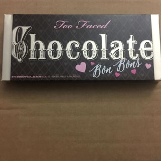 New too faced chocolate bon bons palette