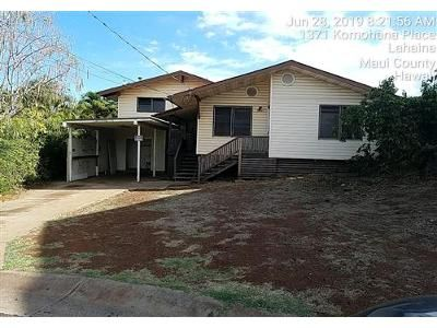 4 Bed 3 Bath Foreclosure Property in Lahaina, HI 96761 - Komohana Pl