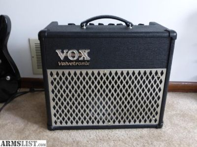 For Sale/Trade: Amplifier: Vox ad15vt