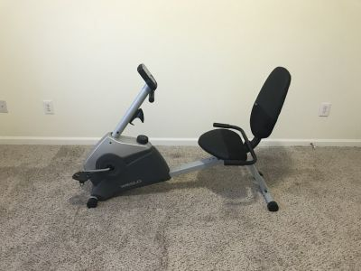 Home exercise bicycle