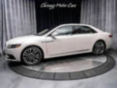 2017 Lincoln Continental Reserve AWD MSRP $66k+ 2017 Lincoln Continental Reserve