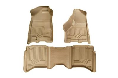 Buy Husky Liners 99003 2009 Dodge Ram Tan Custom Floor Mats 1st, 2nd Row motorcycle in Winfield, Kansas, US, for US $170.95