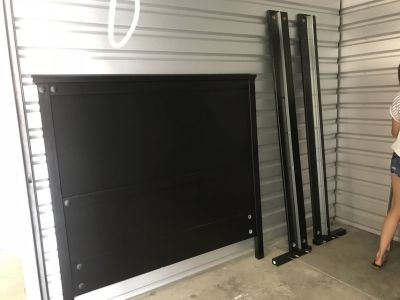 Queen Size Headboard and frame (Free)