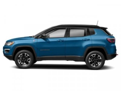 2019 Jeep Compass Trailhawk (Laser Blue Pearlcoat)