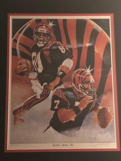 BENGALS PAINTING EIGHTY+SEVEN=SIX BY John Winright
