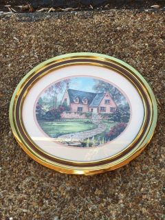 Oval Framed Picture