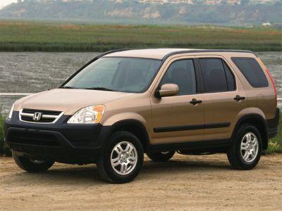 2002 Honda CR-V EX (Eternal Blue Pearl)