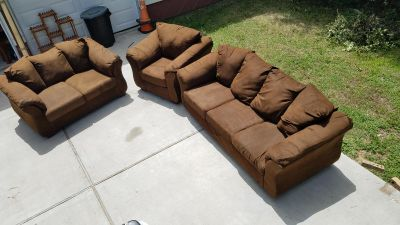 3 pc couch set