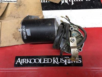 NOS 6V Type 3 wiper motor PT# 315-955-111 S