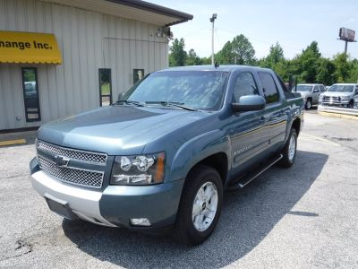 2009 Chevrolet Avalanche LT (Blue)