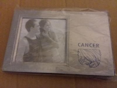 *cancer sign picture frame
