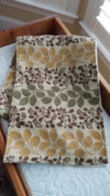 """Table runner. Approx 70""""L x 12""""W."""