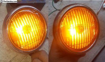 """Fog lights 5"""" new bulbs"""