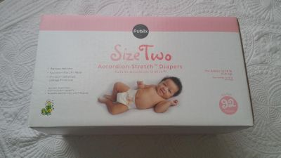 Brand new size 2 diapers 92ct