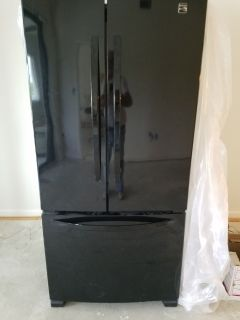 Kenmore French Door Refrigerator and Dishwasher