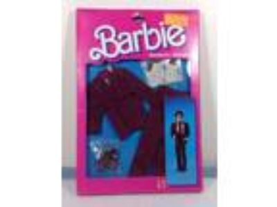 Barbie's Friend Ken Romantic Wedding Fashion Suit Shoes 1986