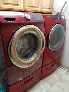Samsung washing machine and dryer