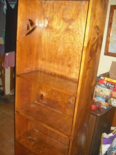 all wood hand made sail boat cabinet