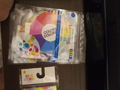 Learning color wheel