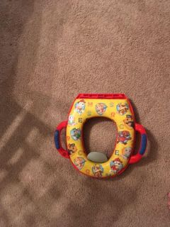Potty training seat, never used , my son was scared of it