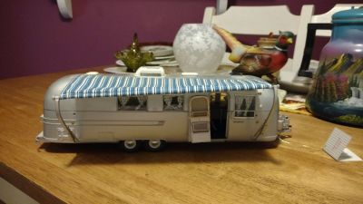 1968 Airstream model 1:24 scale Franklin Mint