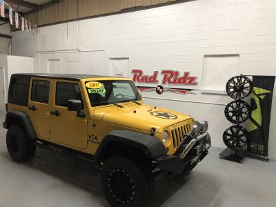 2007 Jeep Wrangler Unlimited X (Yellow)
