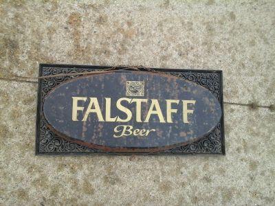 Falstaff Beer Light up sign