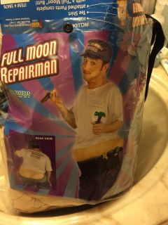 Halloween C. Moore plumber customer with tool pouch. Fits up to 40 chest. $10.00