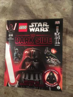 Lego Star Wars The Dark Side in amazing shape - includes minifigure never removed.