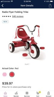 New tricycle