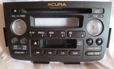 Find 01 02 03 04 Acura MDX Radio Cd Cassette Face Plate 2PF0 39101-S3V-A020 motorcycle in Williamson, Georgia, United States
