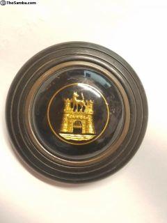 Barn Door Horn Button