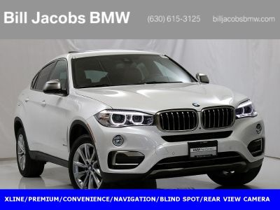 2019 BMW X6 xDrive35i (Mineral White Metallic)