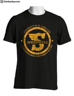 Speedwell Distressed T Shirt
