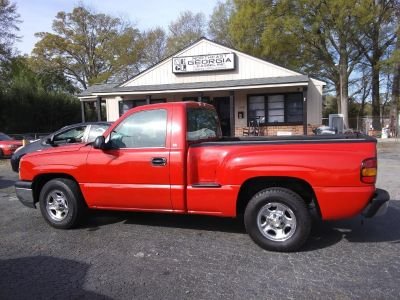 2004 Chevrolet Silverado 1500 Work Truck (RED)