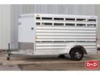 2019 Exiss Exhibitor Mini 11 Ft Stock Trailer