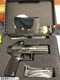 For Sale: NWTF SIG P320 9MM BANQUET GUN W/ ROMEO 1