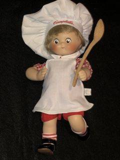 1995 Campbell Soup Dancing Chef Porcelain Doll