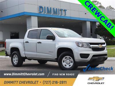 2019 Chevrolet Colorado Work Truck (Silver Ice Metallic)