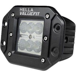 Purchase Hella 357204021 Hella ValueFit Off-Road Cube 6 LED Kit Flood Beam Flush Multivol motorcycle in Delaware, Ohio, United States, for US $42.49