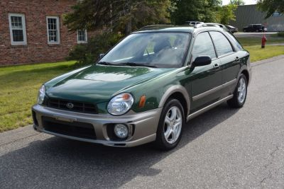 2002 Subaru Impreza Outback Sport (Green)