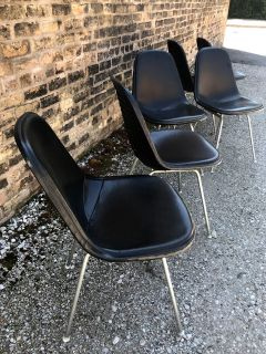 Set of Six 1960s Eames DKR Chairs by Herman Miller