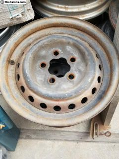 "Vanagon original 14"" steel wheels (rims)"