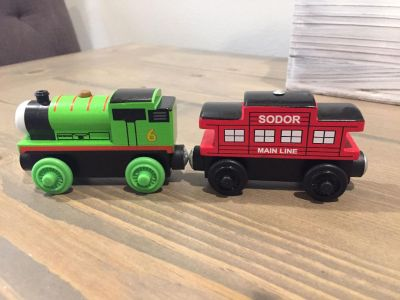 Wooden Magnetic Trains