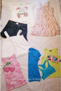 Lot of kids size 14 clothing
