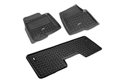 Find Rugged Ridge 82989.21 - 09-11 Ford F-150 All Terrain Black Floor Liners motorcycle in Suwanee, Georgia, US, for US $169.99