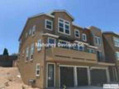 NEW in 2018. Three BR/2.5 BA, 1954 sf, 3-story end unit on
