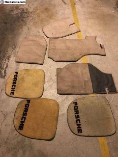 A set of mats for 911 (tan)