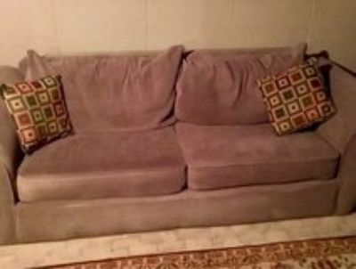 2pc Large Couch & Love Seat